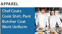 Cook shirts and chef coats